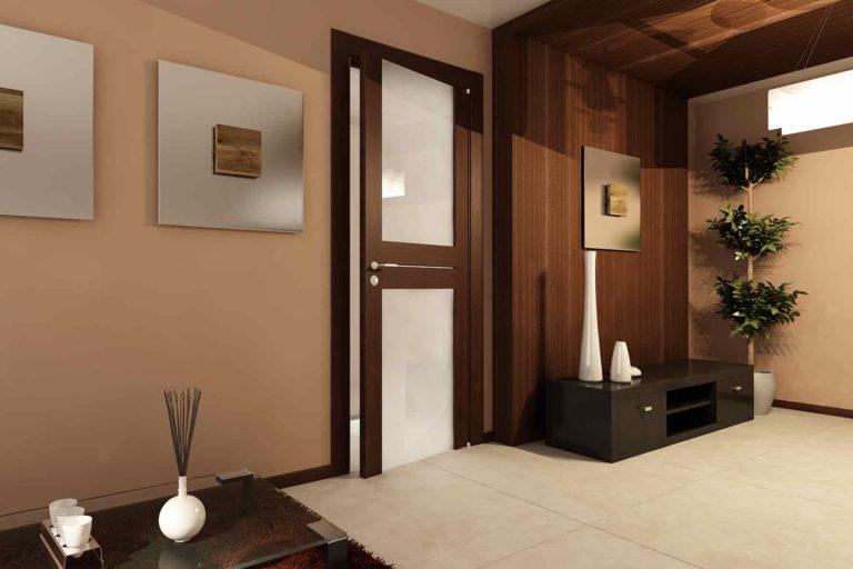 Современные межкомнатные двери в интерьере