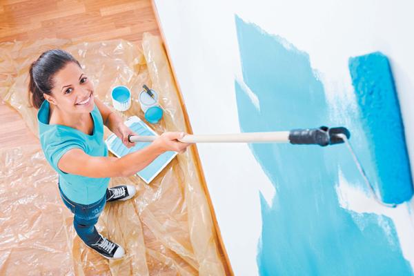 Краска для ремонта квартиры