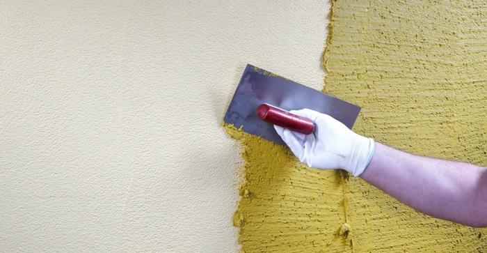 Декоративная краска - виды декоративных красок и особенности применения на фото