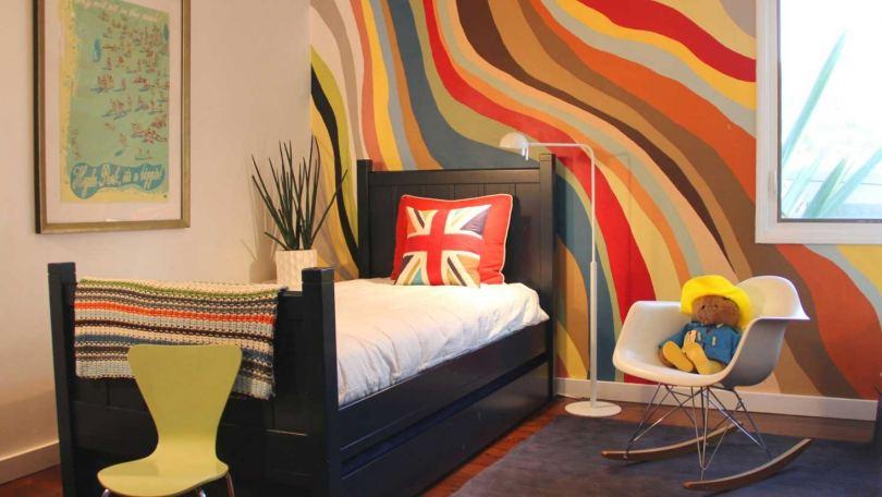 Интерьерная краска - большое разнообразие вариантов для яркого дизайна