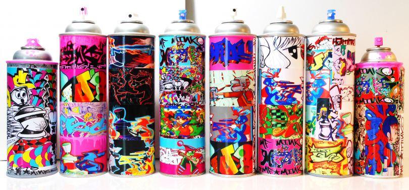 Краска в баллончиках - фото и виды красок в баллончиках для разных типов покраски
