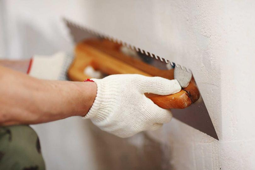 Штукатурка стен своими руками - фото обзор и советы по проведению работ для новичков!