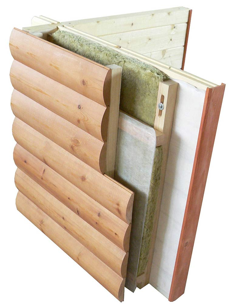 Блок-хаус - что это такое и как выбрать правильно декоративный отделочный материал (115 фото)