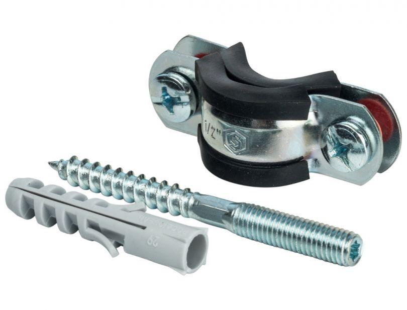 Крепеж для труб: основные виды, критерии выбора, варианты применения и советы по монтажу (120 фото)