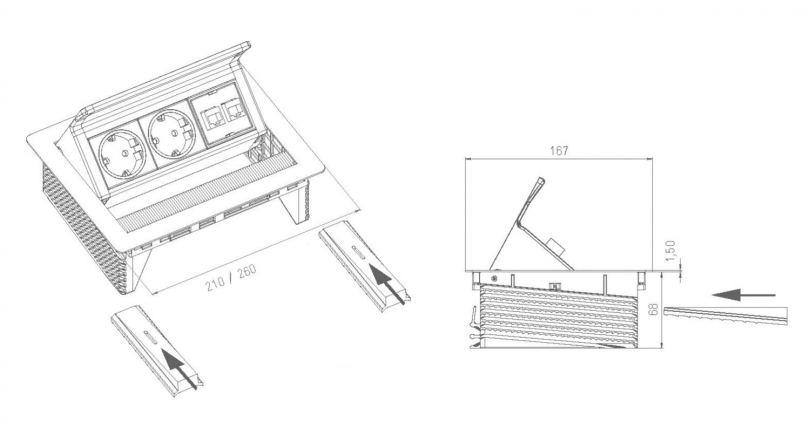 Встроенные розетки: обычные и силовые модели. Лучшие производители и особенности применения встроенных розеток (110 фото)
