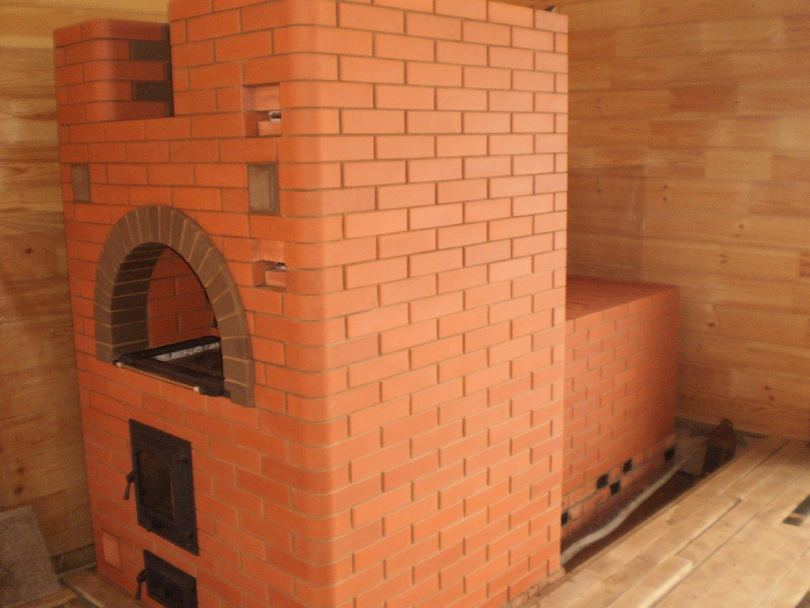 Печь из кирпича: подбор материалов, схемы постройки, варианты кладки и советы по подбору конструкции (110 фото и видео)