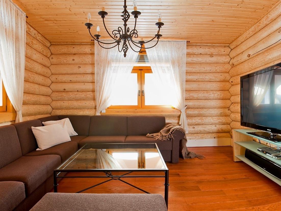 Блок хаус для внутренней и внешней отделки дома