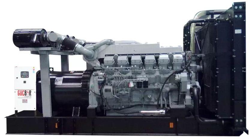 Испанские дизельные генераторы с двигателем Мицубиси