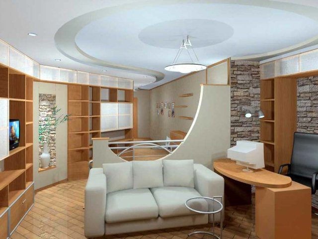Внутренняя отделка комнат