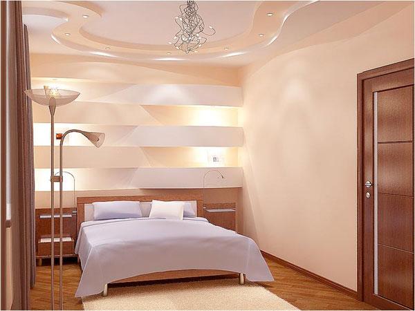 Варианты отделки спальни