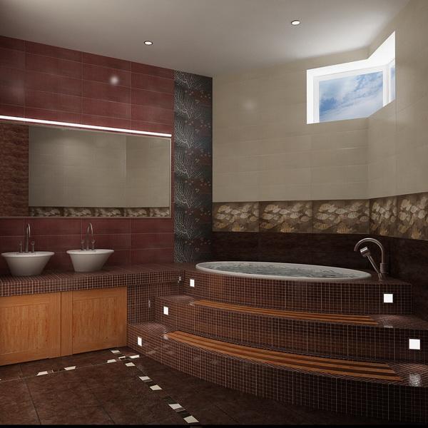 Отделка ванных комнат
