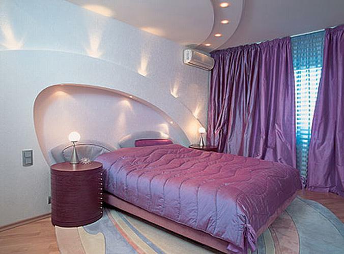 Современный евроремонт спальни
