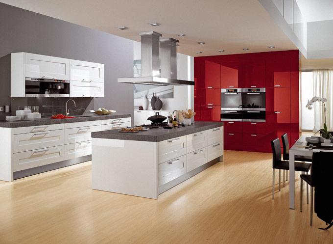 Современная отделка кухни