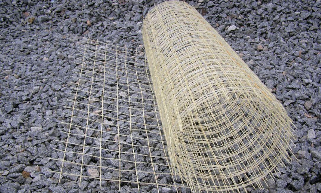 Армирующая сетка - применение