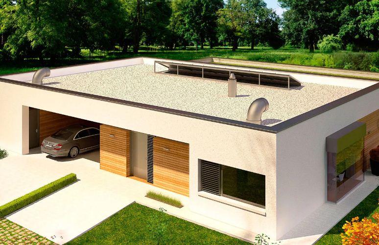 Плоская крыша и уход за ней