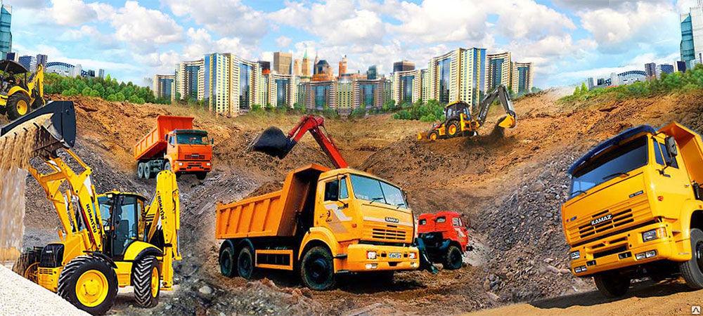 Спецтехника – фактор успеха строительного мероприятия
