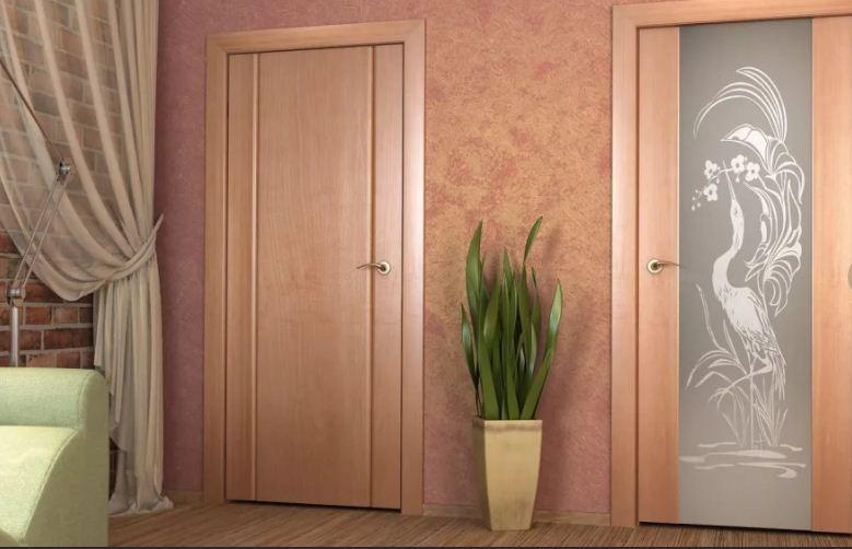 Выбираем цвет межкомнатных дверей