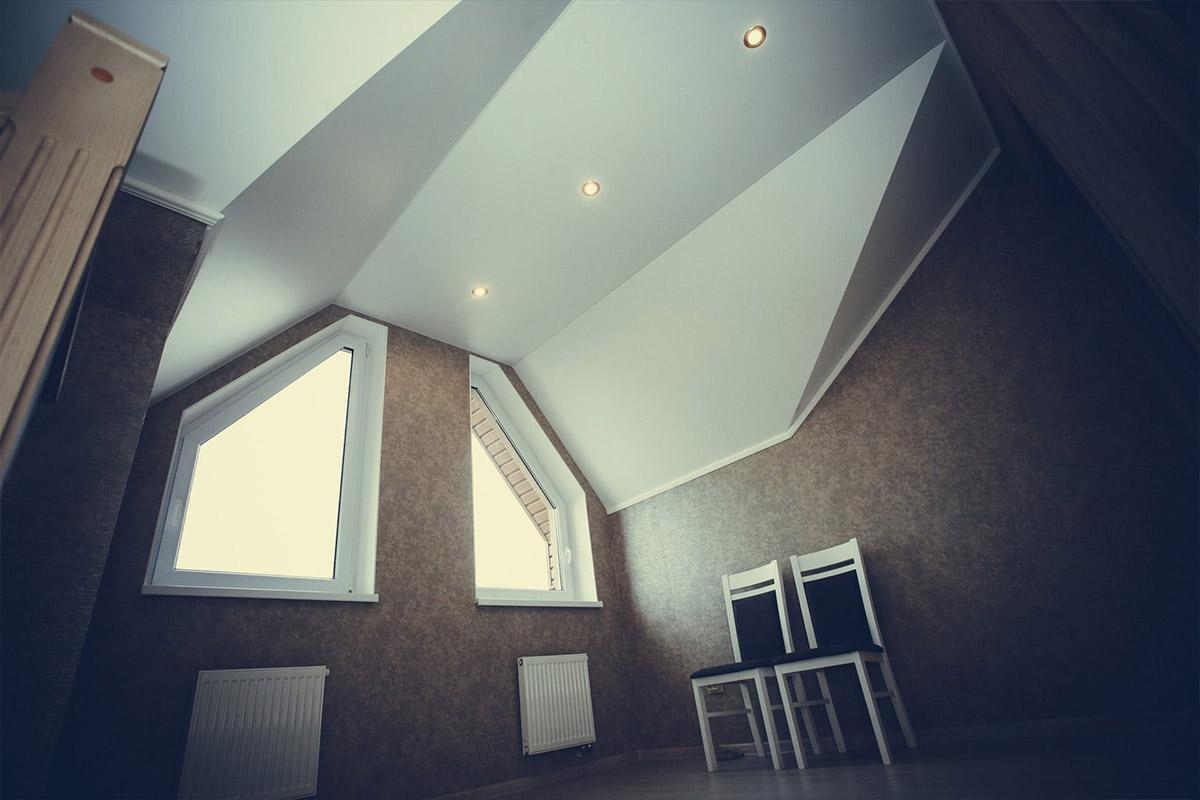 Найдите новые идеи натяжных потолков с особым световым эффектом